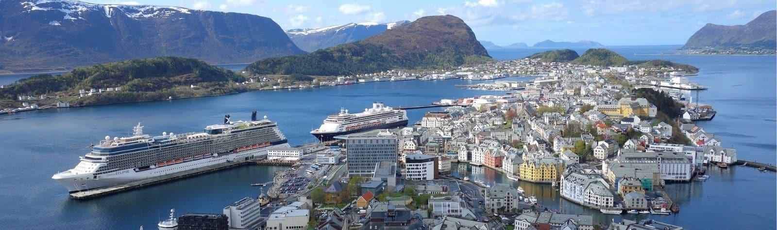 10 najbardziej popularnych miast w Norwegii